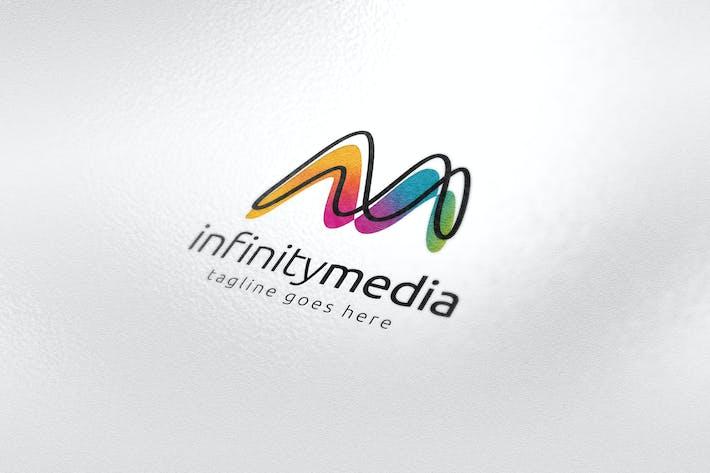 Thumbnail for Infinity Media Letter M Logo