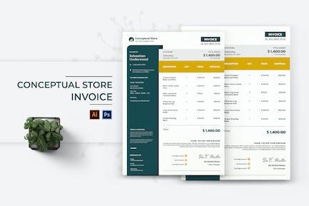 Conceptual Store Invoice