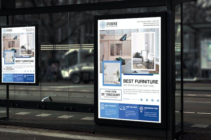 Furni - Furniture and Decoration Poster HR