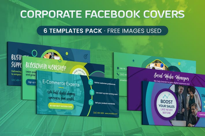 Thumbnail for Corporate Facebook Cover
