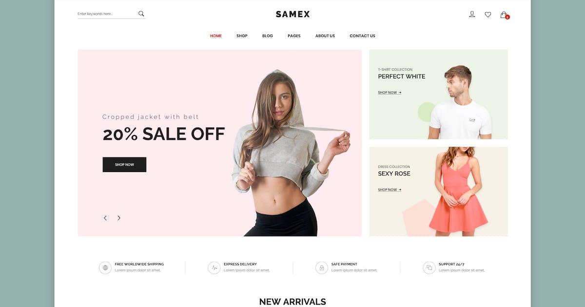 Download Samex - Clean, Minimal Shop WooCommerce WordPress by snstheme