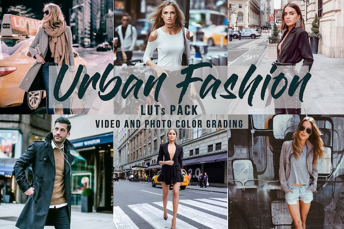 Thumbnail for Urban Fashion -  LUTs Pack
