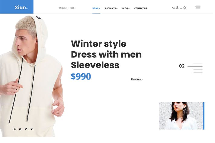 Thumbnail for Xian - Fashion WooCommerce Theme