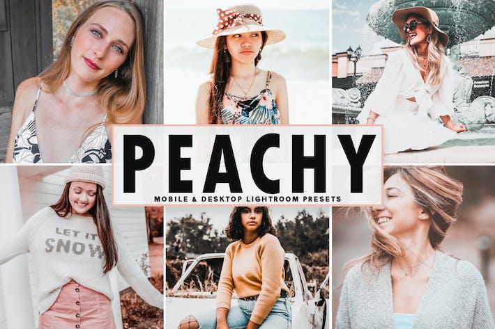 Thumbnail for Peachy Mobile & Desktop Lightroom Presets
