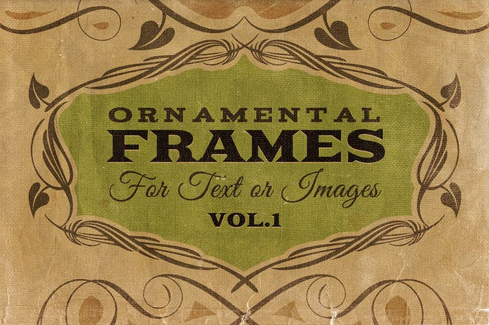 Thumbnail for Ornamental frames Vol.1