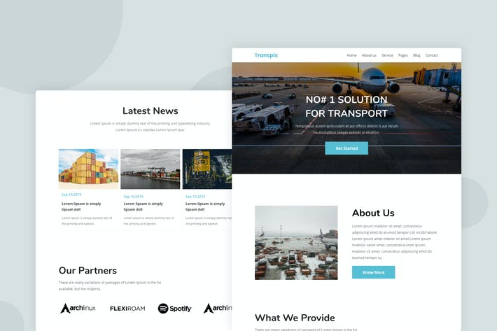 Thumbnail for Transport - Email Newsletter
