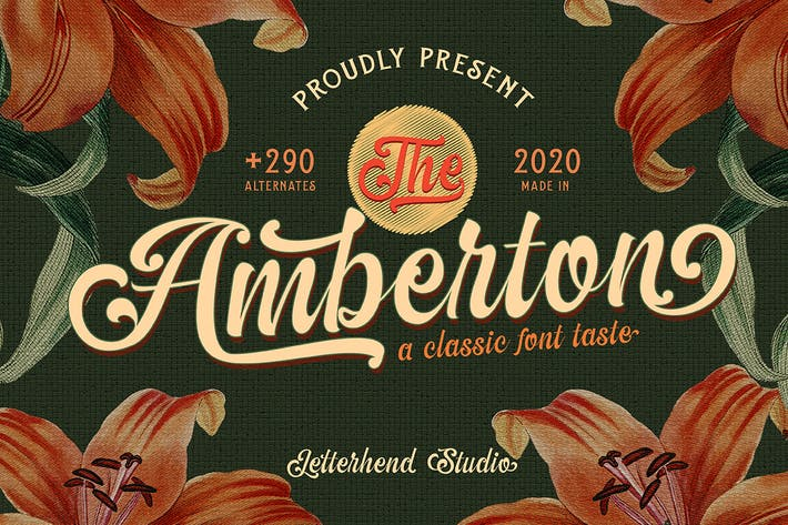 Thumbnail for The Amberton - A Classic Script
