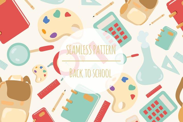 Thumbnail for Regreso a la escuela — Patrón sin costuras