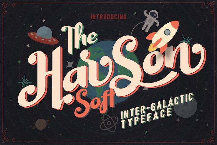 Harson Soft - Tipo de letra intergaláctica