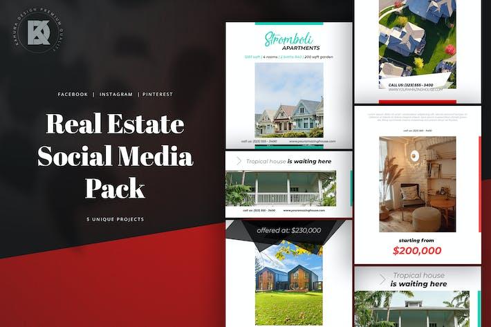 Thumbnail for Real Estate Social Media Pack