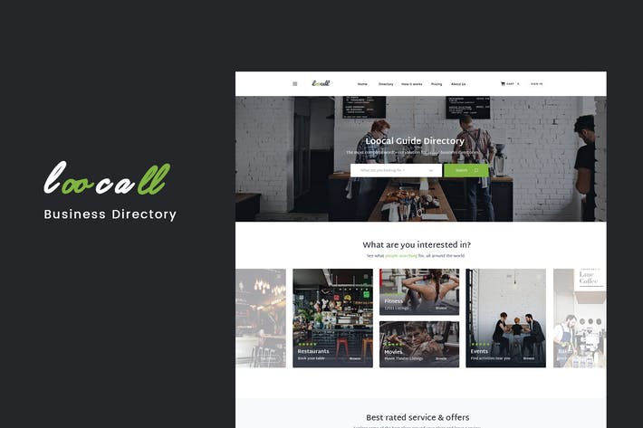 Thumbnail for Loocall - Modern Business Directory