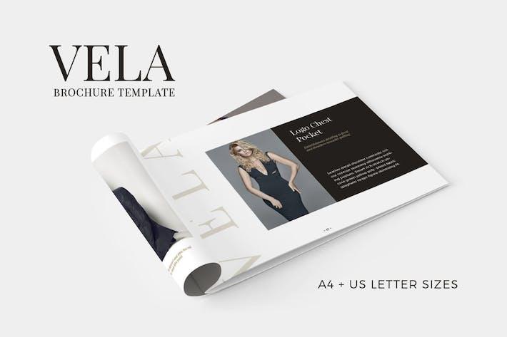 Thumbnail for Vela Brochure Template