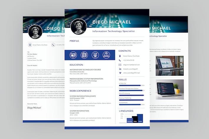 Thumbnail for CV Signal Resume Designer