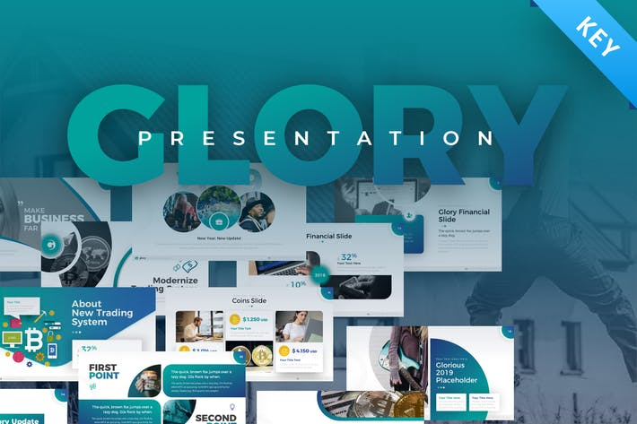Thumbnail for Glory Business Pack Keynote Template