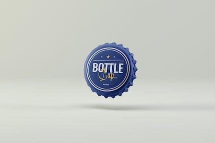 Flaschenverschluss Mock-ups