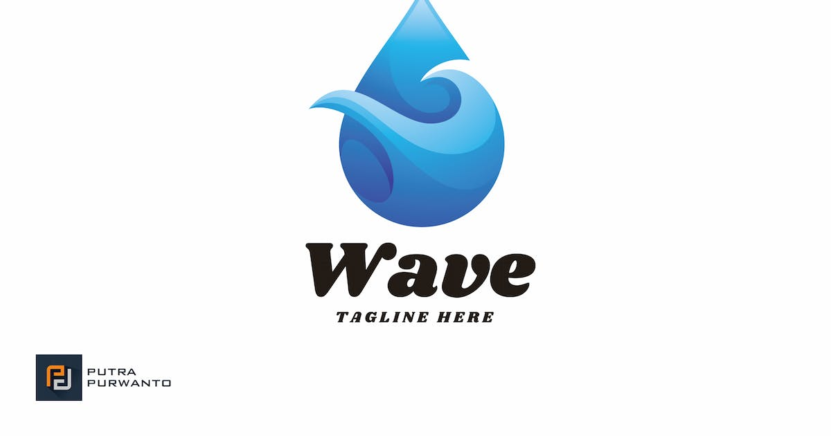 Download Wave - Logo Template by putra_purwanto