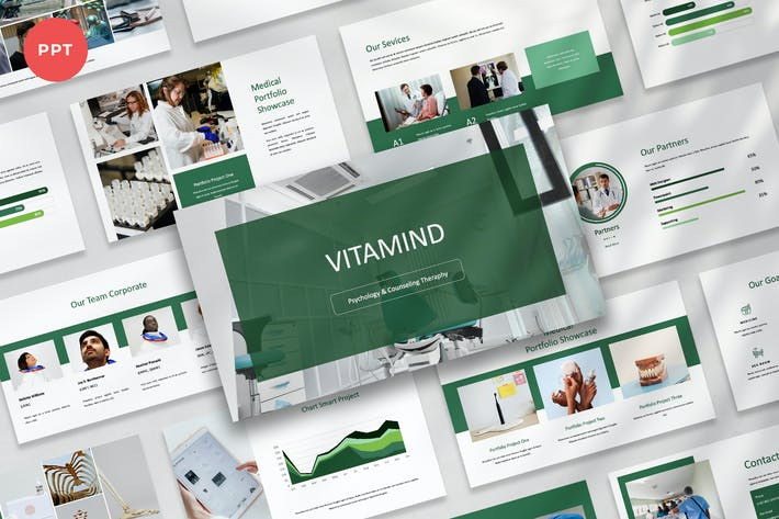 VITAMIND -  Psychology Theraphy Powerpoint