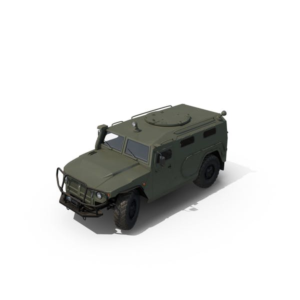 Thumbnail for Russian Mobility Vehicle GAZ Tigr M