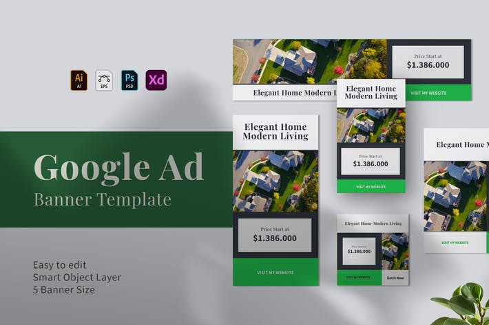 Thumbnail for Real Estate Google Ads Web Banner 08