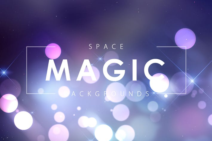 Thumbnail for Space Magic Backgrounds