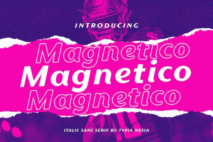 Thumbnail for Magnetico Italic Sans