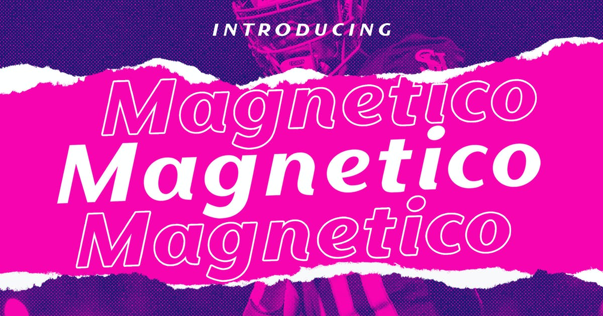Download Magnetico Italic Sans by yipianesia