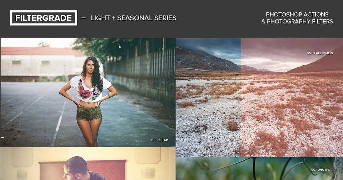 Download FilterGrade Light & Seasonal Photoshop Actions by filtergrade