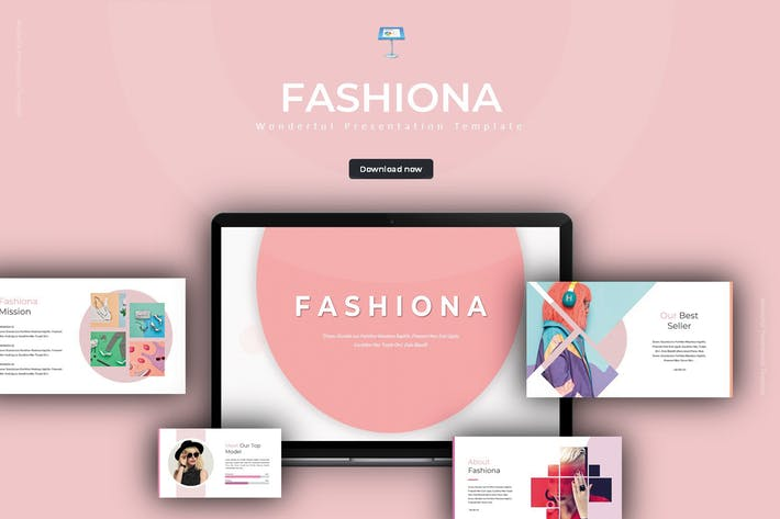 Thumbnail for Fashiona - Keynote Template