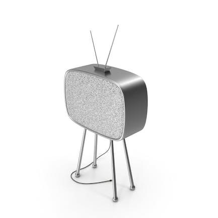 Старый телевизор без сигнала