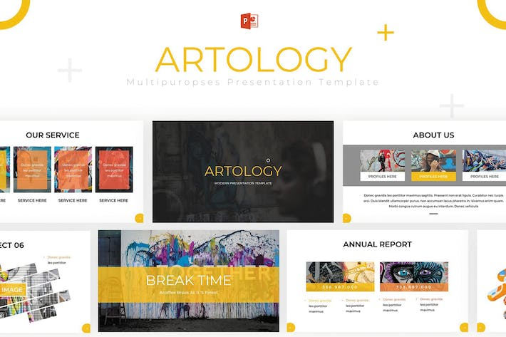 Thumbnail for Artology - Powerpoint Template