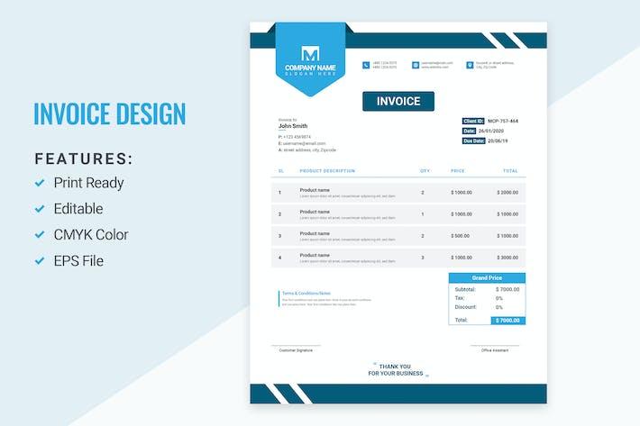 Thumbnail for Invoice Design