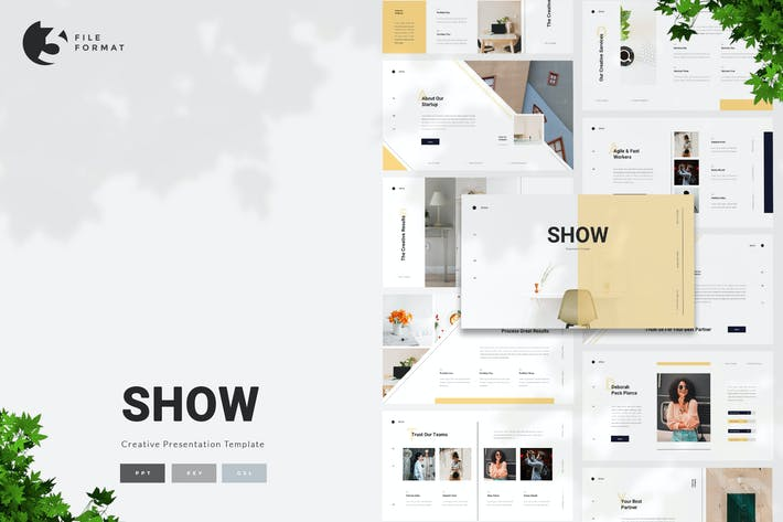 Thumbnail for Show - Creative Presentation Template