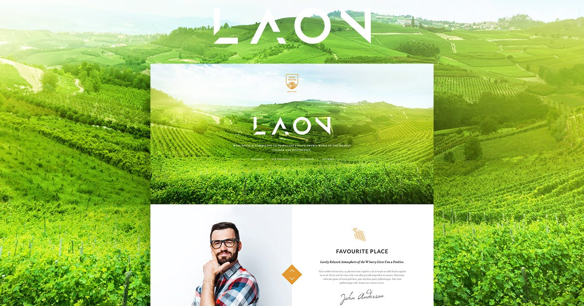Download Laon by ThemeREX