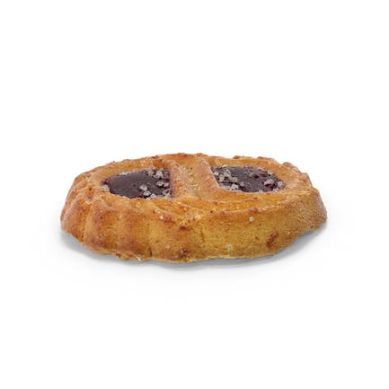 Печенье с двойным желе