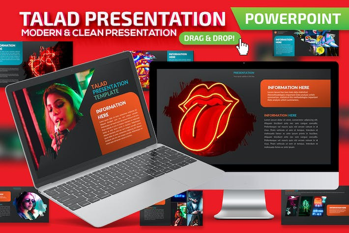 Thumbnail for Talad Powerpoint Presentation Template