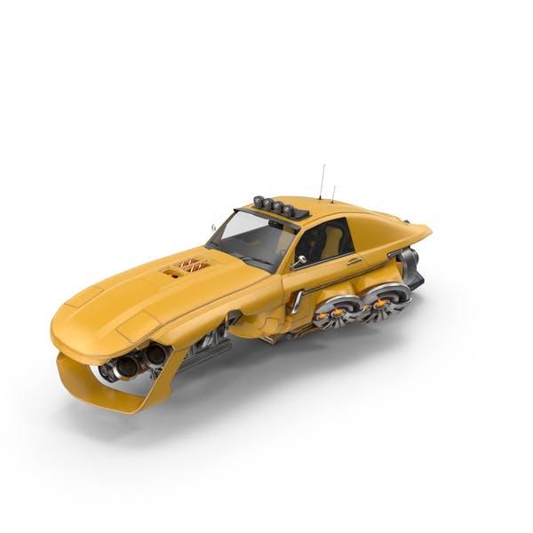 Cover Image for Futuristic Car