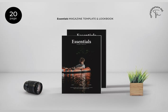 Thumbnail for Essential - Magazine Template