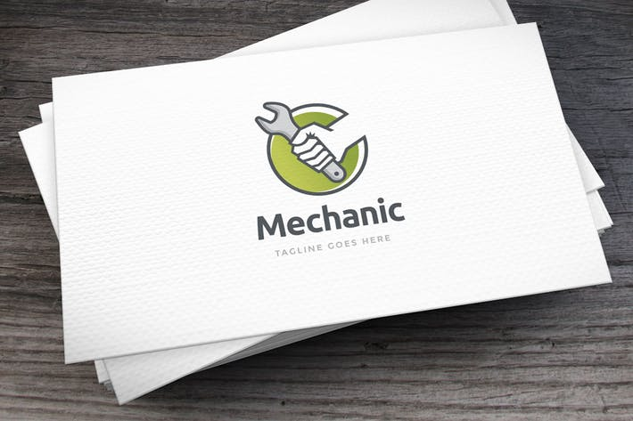 Thumbnail for Mechanic Logo Template