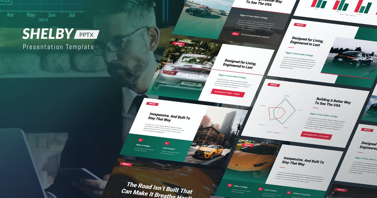 Download Shelby - Corporate Powerpoint Template by Slidehack