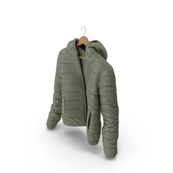 Thumbnail for Women's Down Jacket On Hanger