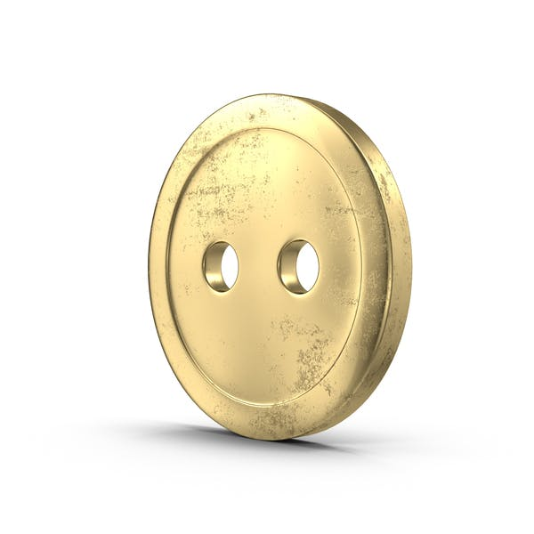 Thumbnail for Aged Brass Button