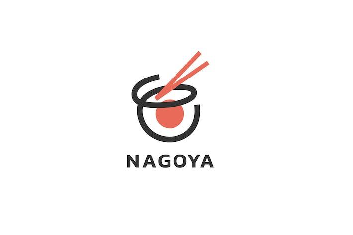 Thumbnail for Nagoya - Japanese Food Logo Template