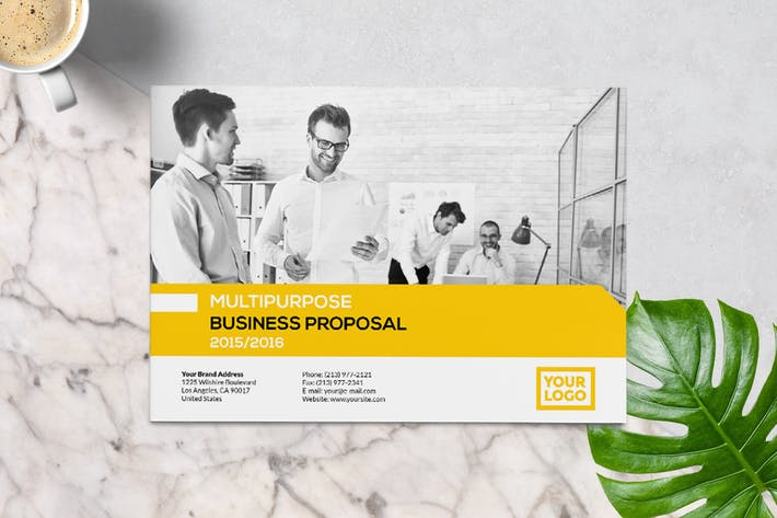 Thumbnail for Neue Business Proposal