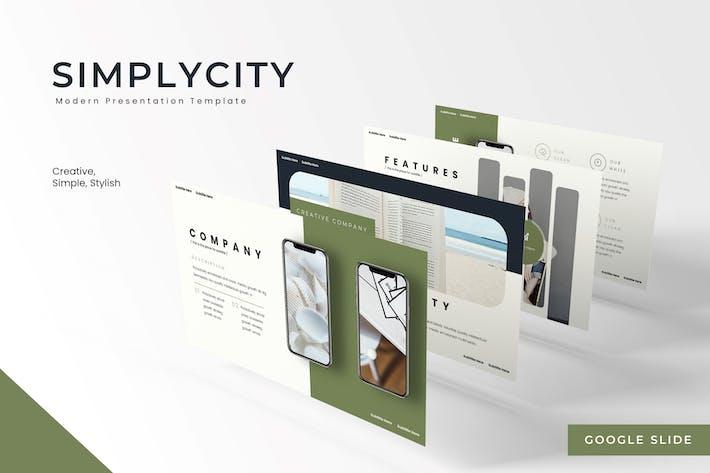 Thumbnail for Simplycity - Google Slides Template