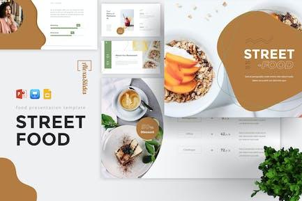 StreetFood - Food Powerpoint Template
