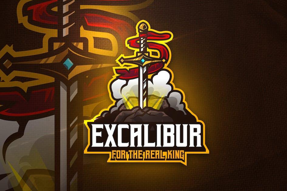 Download Excalibur - Mascot & Esport Logo by aqrstudio
