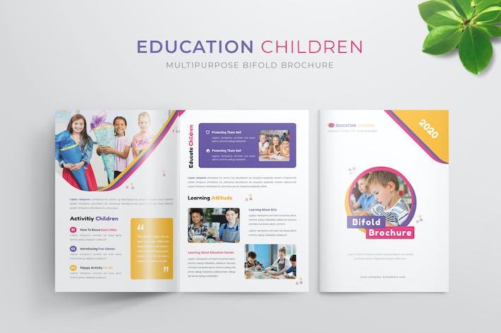 Bildung Kinder | Bifold Broschüre