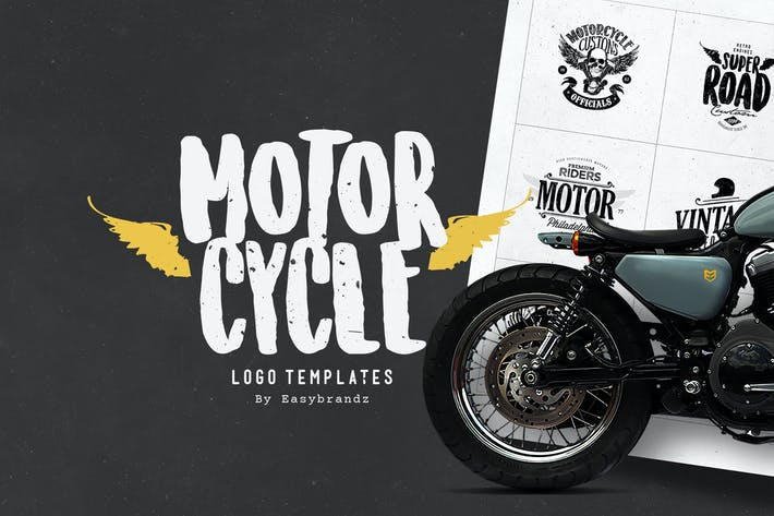 Cover Image For Motorcycle Logo Templates