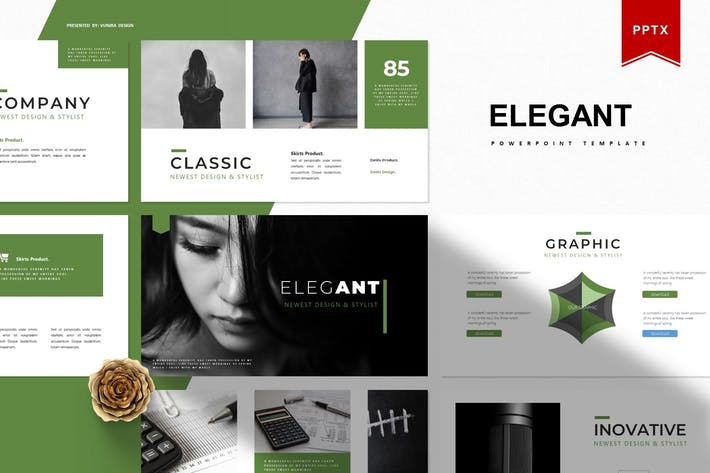 Thumbnail for Elegant | Powerpoint Template