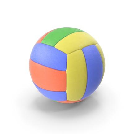 VolleyBall Colored